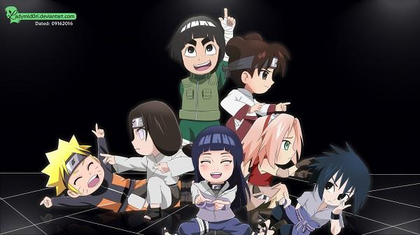 Tags: Anime, Ladymid0ri, Rock Lee no Seishun Full-Power Ninden, NARUTO, Hyuuga Neji, Uzumaki Naruto, Haruno Sakura, Hyuuga Hinata, Rock Lee, Tenten, Uchiha Sasuke, Death Parade (Parody), Fanart