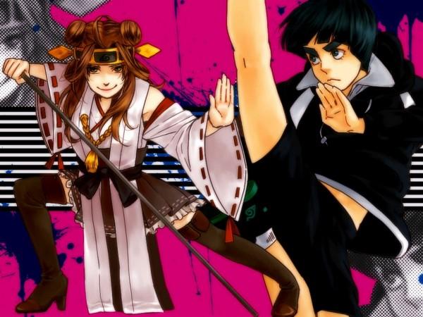 Tags: Anime, Pixiv Id 2505801, NARUTO, Tenten, Rock Lee
