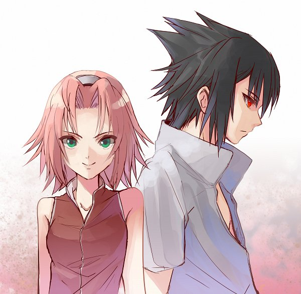Tags: Anime, Pixiv Id 11577393, NARUTO, NARUTO: SHIPPŪDEN, Haruno Sakura, Uchiha Sasuke