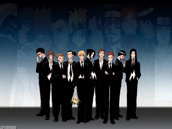 Tags: Anime, NARUTO, Uchiha Sasuke, Hyuuga Neji, Uzumaki Naruto, Nara Shikamaru, Gaara, Rock Lee, Aburame Shino, Wallpaper
