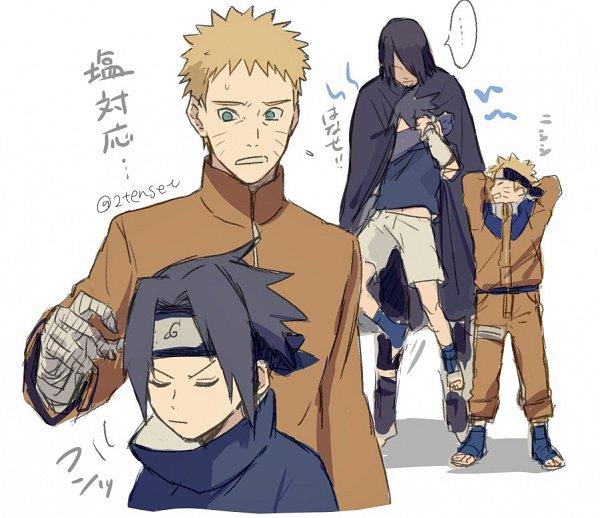 Tags: Anime, Pixiv Id 2455706, BORUTO: Naruto Next Generations, NARUTO, Uchiha Sasuke, Uzumaki Naruto, Fanart From Pixiv, Fanart, Pixiv