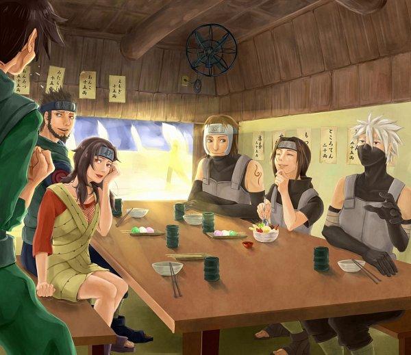 Tags: Anime, Pixiv Id 3485326, NARUTO, Yamato (NARUTO), Uchiha Itachi, Might Guy, Hatake Kakashi, Sarutobi Asuma, Yuuhi Kurenai, Anbu, Pixiv