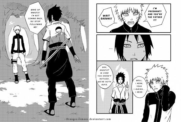Tags: Anime, oranges-lemons, NARUTO, Uchiha Sasuke, Uzumaki Naruto, deviantART, Comic, Jinchuuriki