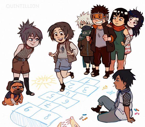 Tags: Anime, NARUTO, NARUTO: SHIPPŪDEN, Nohara Rin, Hatake Kakashi, Might Guy, Mitarashi Anko, Pakkun, Sarutobi Asuma, Uchiha Obito, Yuuhi Kurenai