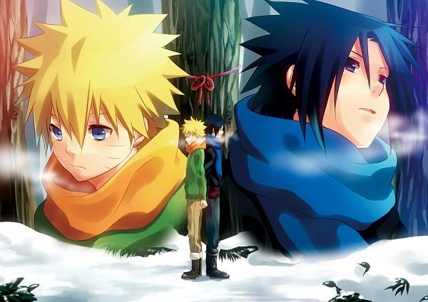 Tags: Anime, Fujishima Akira, NARUTO, Uchiha Sasuke, Uzumaki Naruto, Fanart, Pixiv, Jinchuuriki