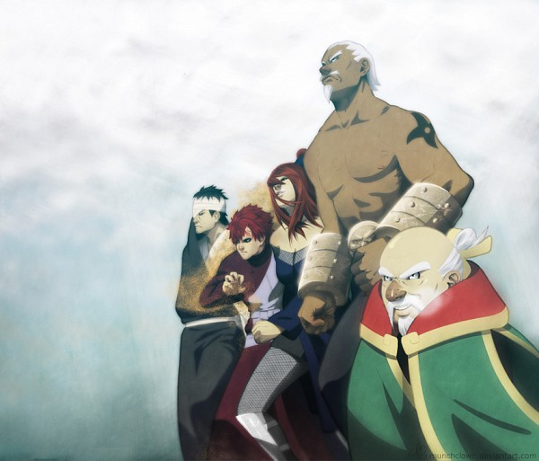 Tags: Anime, NARUTO, Killer Bee, Ryoutenbin no Ounoki, Shimura Danzou, A (NARUTO), Gaara, Terumii Mei, Munchclown, deviantART, Gokage, Jinchuuriki