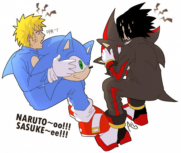 Tags: Anime, Ari1020, NARUTO, Uzumaki Naruto, Uchiha Sasuke, Shadow The Hedgehog (Cosplay), Sonic the Hedgehog (Cosplay), deviantART, Jinchuuriki