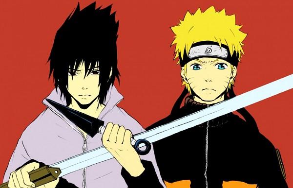 Tags: Anime, Pixiv Id 2154208, NARUTO, Uchiha Sasuke, Uzumaki Naruto, Fanart, Pixiv, Jinchuuriki