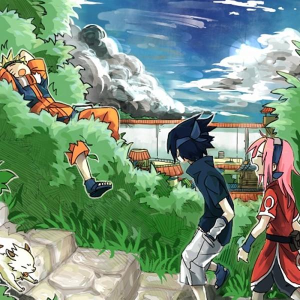 Tags: Anime, Miyano A, NARUTO, Uchiha Sasuke, Uzumaki Naruto, Haruno Sakura, Pixiv, Jinchuuriki