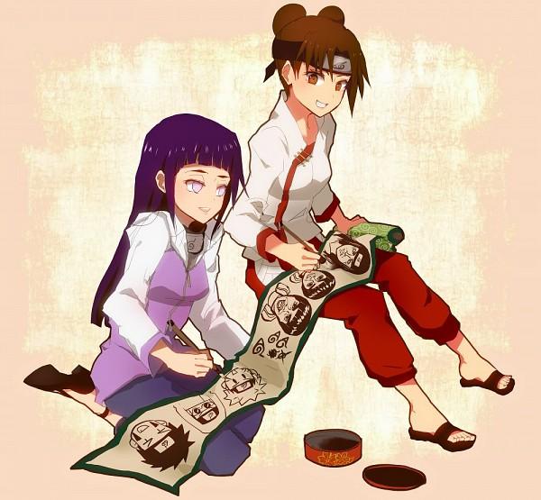 Tags: Anime, Amarcord, NARUTO, Tenten, Hyuuga Hinata, Pixiv
