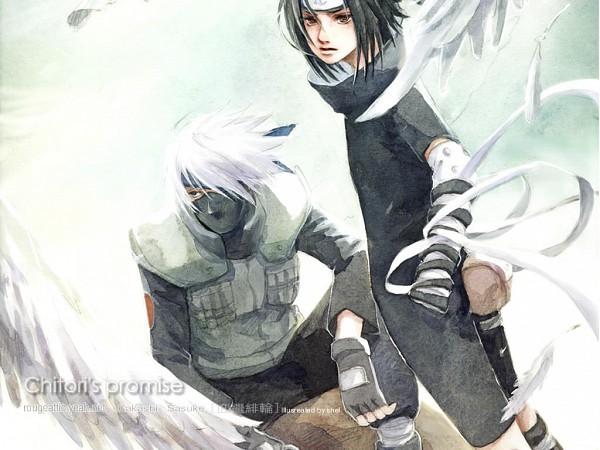 Tags: Anime, NARUTO, Hatake Kakashi, Uchiha Sasuke