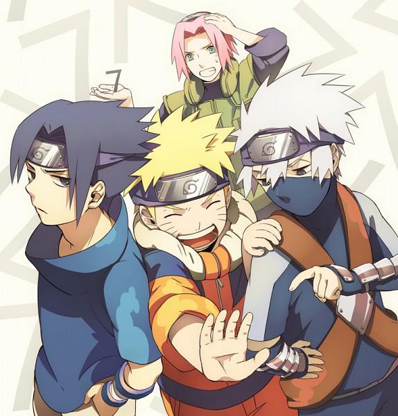 Tags: Anime, Min Tosu, NARUTO, Hatake Kakashi, Uchiha Sasuke, Uzumaki Naruto, Haruno Sakura, Jinchuuriki, Team 7