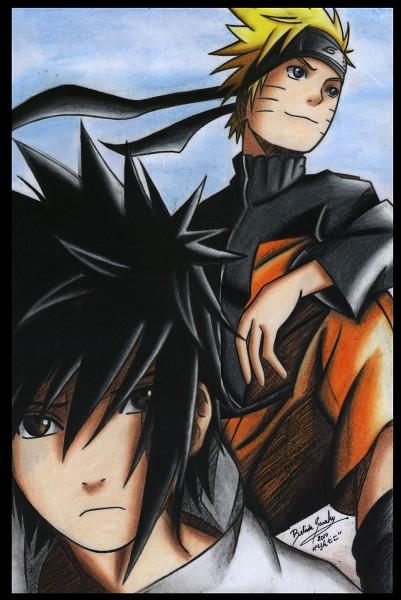 Tags: Anime, NARUTO, Uzumaki Naruto, Uchiha Sasuke, deviantART, Jinchuuriki