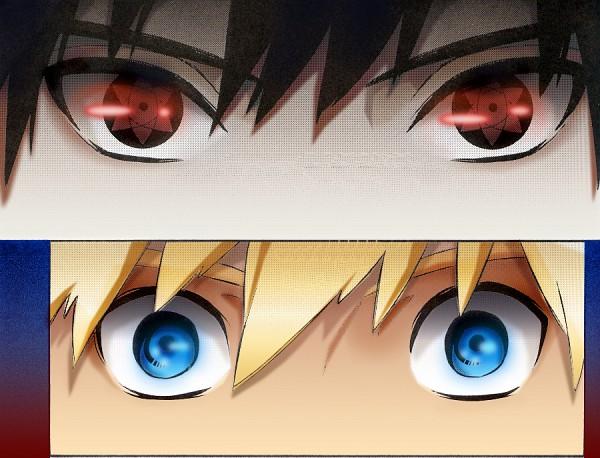 Tags: Anime, NARUTO, Uchiha Sasuke, Uzumaki Naruto, Mangekyou Sharingan, Jinchuuriki