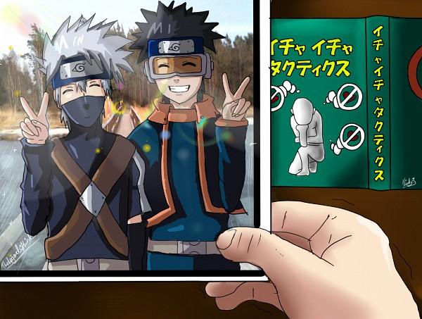 Tags: Anime, NARUTO, Uchiha Obito, Hatake Kakashi