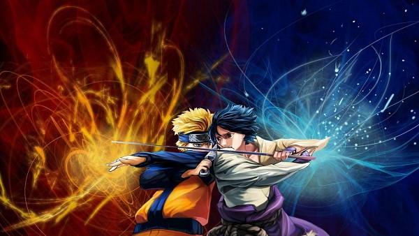 Tags: Anime, Borammy, NARUTO, Uzumaki Naruto, Uchiha Sasuke, HD Wallpaper, Wallpaper, Jinchuuriki