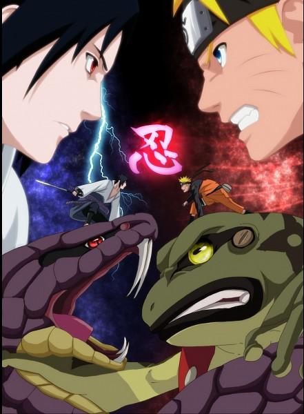 Tags: Anime, NARUTO, Uchiha Sasuke, Uzumaki Naruto, Vector, Jinchuuriki