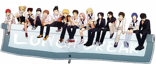 Tags: Anime, Gabzilla, NARUTO, Uchiha Sasuke, Tenten, Akamaru (NARUTO), Nara Shikamaru, Temari (NARUTO), Uzumaki Naruto, Inuzuka Kiba, Gaara, Yamanaka Ino, Haruno Sakura