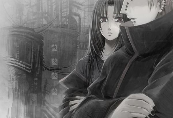 Tags: Anime, Pixiv Id 340793, NARUTO, Pein, Uchiha Itachi, Akatsuki (NARUTO)