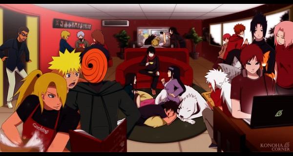 Tags: Anime, Annria2002, NARUTO, Uchiha Sasuke, Orochimaru, Gaara, Jiraiya (NARUTO), Uzumaki Naruto, Tobi, Hyuuga Hinata, Namikaze Minato, Akamaru (NARUTO), Haruno Sakura