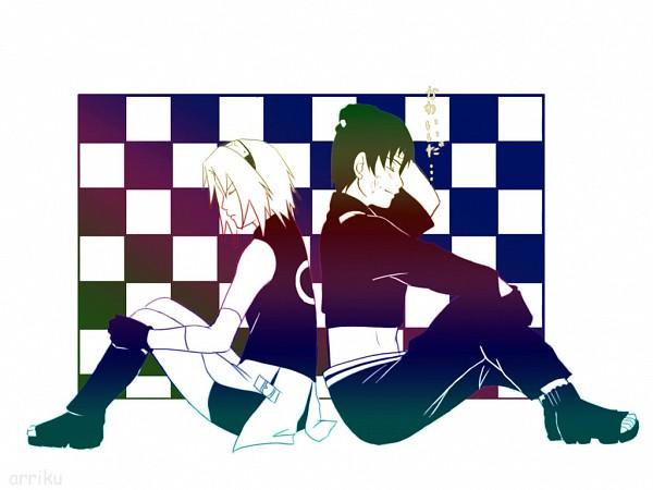 Tags: Anime, NARUTO, Sai, Haruno Sakura, SaiSaku