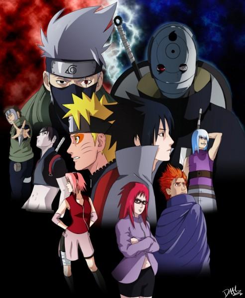Tags: Anime, NARUTO, Haruno Sakura, Karin (NARUTO), Hatake Kakashi, Sai, Uchiha Sasuke, Sage Mode