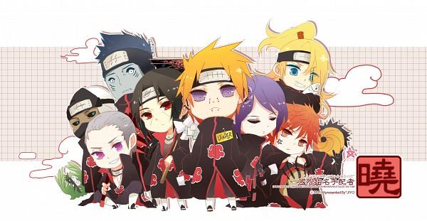 Tags: Anime, NARUTO, Hidan, Kakuzu, Sasori, Uchiha Madara, Konan, Deidara, Pein, Uchiha Itachi, Hoshigaki Kisame, Tobi, Zetsu