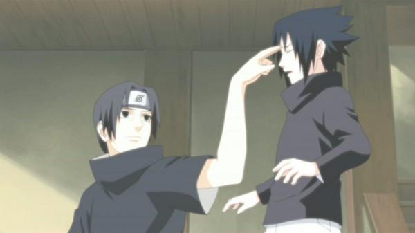 Tags: Anime, NARUTO, Uchiha Itachi, Uchiha Sasuke, Screenshot, Uchiha Brothers, Akatsuki (NARUTO)