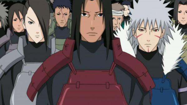 Tags: Anime, NARUTO, Senju Tobirama, Senju Hashirama, Screenshot