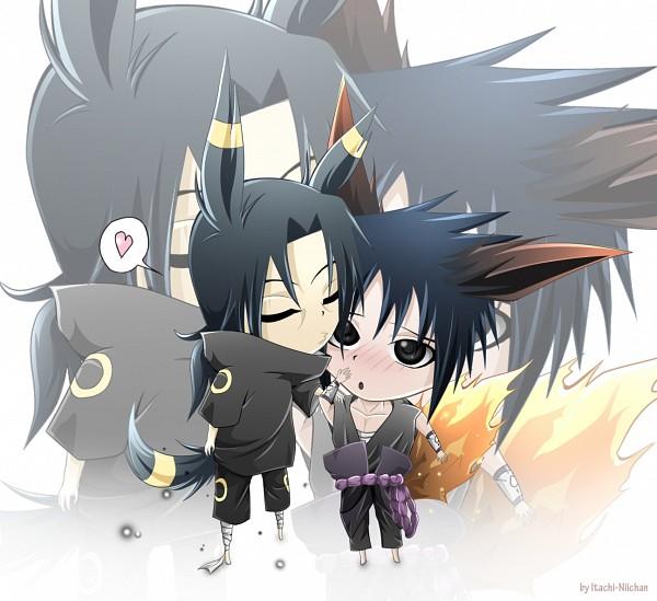Tags: Anime, NARUTO, Uchiha Itachi, Uchiha Sasuke, Flareon (Cosplay), Umbreon (Cosplay), Akatsuki (NARUTO)