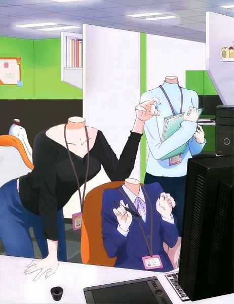 Tags: Anime, NEW GAME!, Yagami Kou, Suzukaze Aoba, Shinoda Hajime, Takimoto Hifumi, Touyama Rin, Office, File, Edited, deviantART