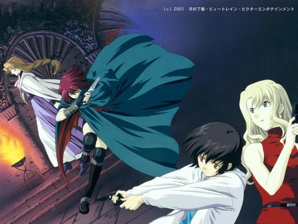 Tags: Anime, NOIR, Bouquet Mireille, Yuumura Kirika, Altena, Chloe