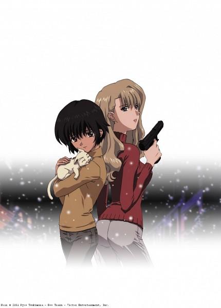 Tags: Anime, NOIR, Bouquet Mireille, Yuumura Kirika, Scan, Official Art