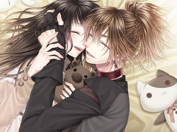 Tags: Anime, Tsukino Omame, Operetta, NOISE -voice of snow-, Rou (Noise), Mana (Noise), Stuffed Cat
