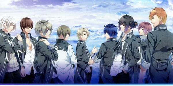 Tags: Anime, Teita, IDEA FACTORY, NORN9 ~Norn + Nonette~ Official Fan Book, NORN9 ~Norn + Nonette~, Azuma Natsuhiko, Toya Masamune, Ichinose Senri, Nijou Sakuya, Kagami Itsuki, Otomaru Heishi, Muroboshi Ron, Yuiga Kakeru