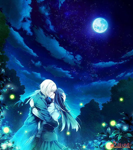 Tags: Anime, Otomate, NORN9 ~Norn + Nonette~, Kuga Mikoto, Nijou Sakuya, Fireflies, CG Art