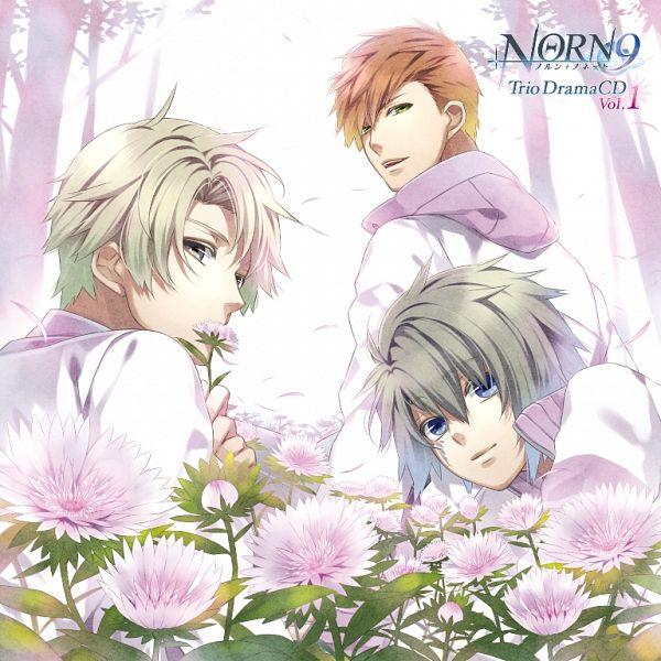 Tags: Anime, Teita, NORN9 ~Norn + Nonette~, Toya Masamune, Yuiga Kakeru, Ichinose Senri, Flower In Mouth, CD (Source), Official Art