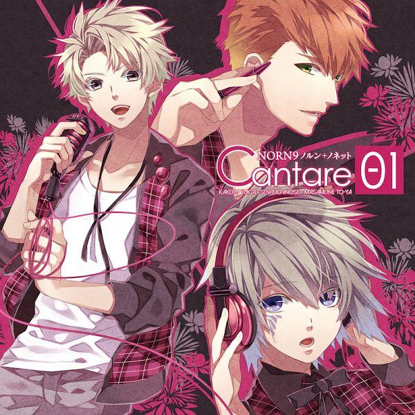 Tags: Anime, Teita, NORN9 ~Norn + Nonette~, Toya Masamune, Yuiga Kakeru, Ichinose Senri, Official Art, CD (Source)