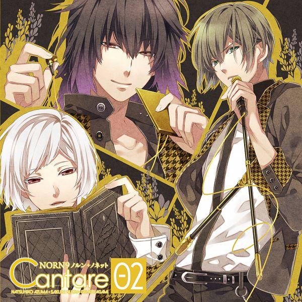 Tags: Anime, Teita, NORN9 ~Norn + Nonette~, Kagami Itsuki, Nijou Sakuya, Azuma Natsuhiko, Official Art, CD (Source)