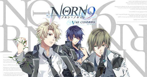 Tags: Anime, Teita, NORN9 ~Norn + Nonette~, Yuiga Kakeru, Azuma Natsuhiko, Shukuri Akito, Official Art