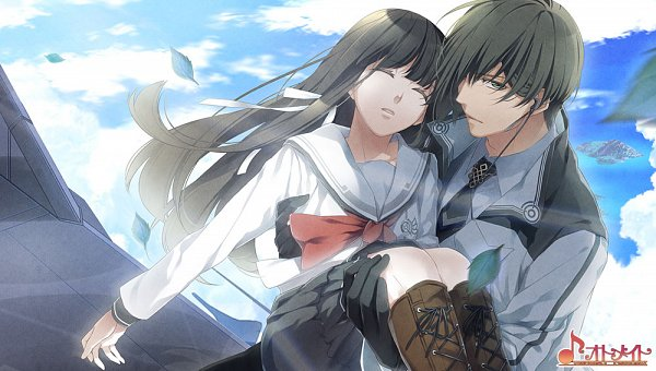 Tags: Anime, Otomate, NORN9 ~Norn + Nonette~, Azuma Natsuhiko, Kuga Mikoto, Unconscious, CG Art