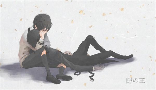 Tags: Anime, Kamatani Yuuki, Nabari no Ou, Yoite, Rokujou Miharu, Wallpaper, King Of Nabari