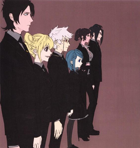 Tags: Anime, Kamatani Yuuki, Nabari no Ou, Minami Juuji (Nabari no Ou), Shimizu Raimei, Kumohira Thobari Durandal, Kôichi Aizawa, Saraba, King Of Nabari