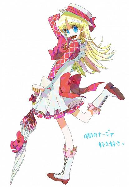 Tags: Anime, Yudohu, Ashita no Nadja, Nadja Applefield, Fanart From Pixiv, Fanart, Pixiv