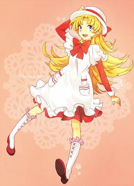 Tags: Anime, Pixiv Id 8918536, Ashita no Nadja, Nadja Applefield, Pixiv, Fanart, Fanart From Pixiv