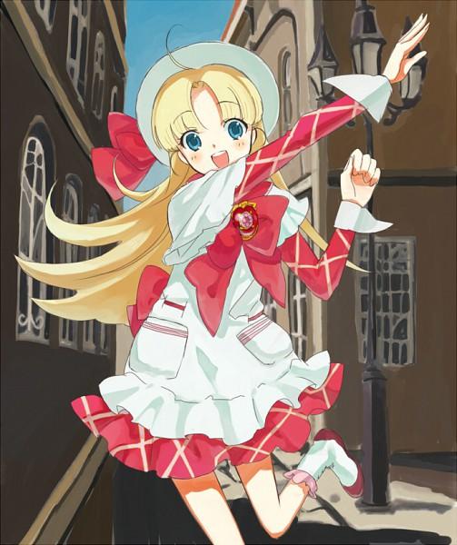 Tags: Anime, 15 (Artist), Ashita no Nadja, Nadja Applefield, Pixiv, Fanart