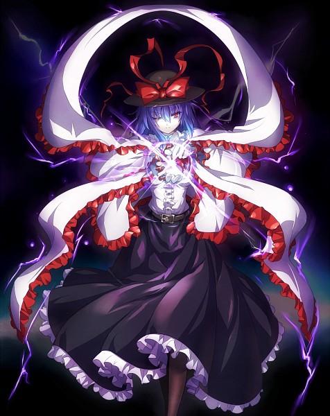 Tags: Anime, Shirosa, Touhou, Nagae Iku, Shawl, Pixiv, Iku Nagae