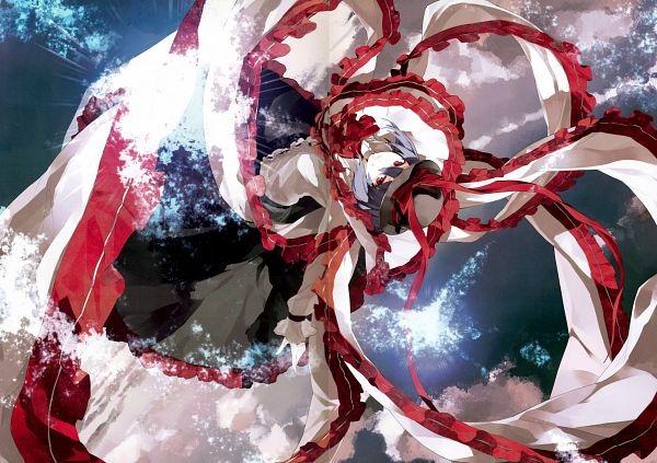 Tags: Anime, Shihou (g-o-s), Touhou Yuu Gajou Ni, Touhou, Nagae Iku, Crease, Scan, Comic Market 81, Comic Market, Fanart, Iku Nagae