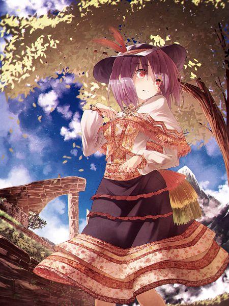 Tags: Anime, Notsugimi, Touhou, Nagae Iku, Fanart, Fanart From Pixiv, Pixiv, Iku Nagae