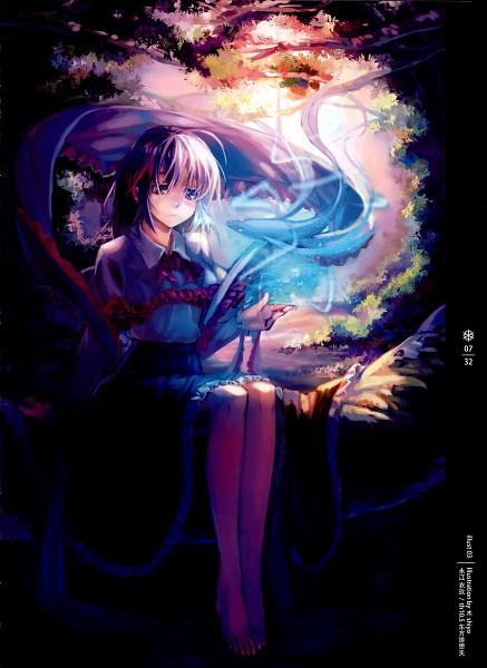 Tags: Anime, Crowdesu, Kishiyo, World Through Fantasy, Touhou, Nagae Iku, Shiyo, Mobile Wallpaper, Iku Nagae